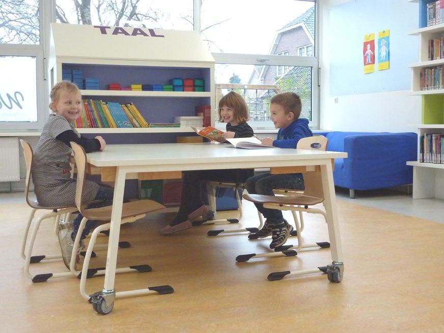 interieurarchitect basisschool Wereldwijzer Okkenbroek