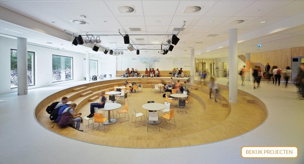 Interieur Montessori College Nijmegen
