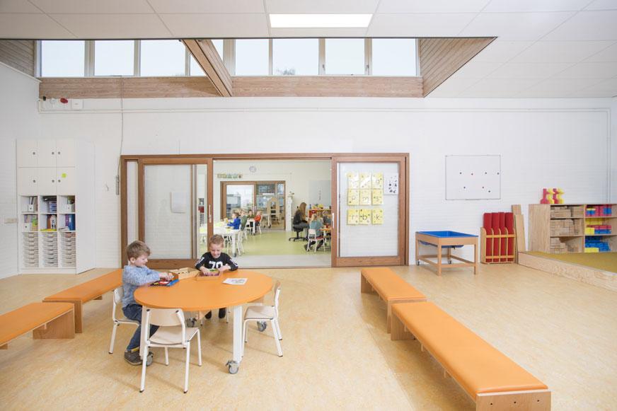 interieur basisschool Wereldwijzer Okkenbroek